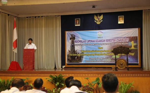 Balai Wilayah I BMKG Adakan Rapat Rekonsiliasi Laporan Keuangan Semester I Tahun 2017